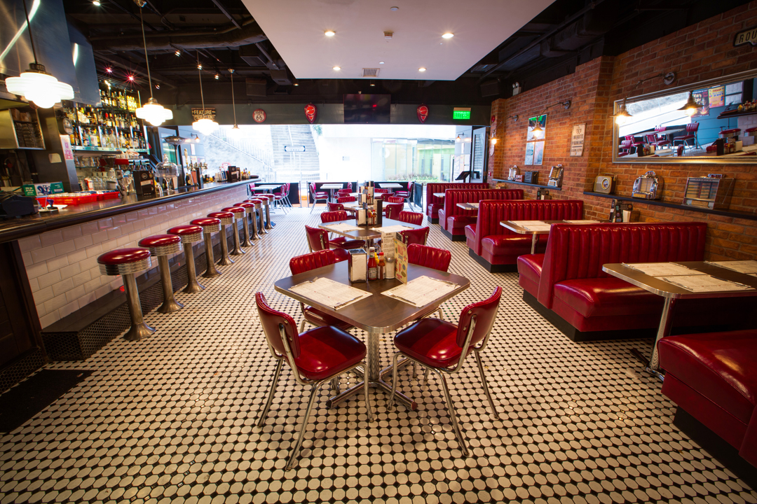 New retro design restaurant and hospitality design for Diner picture