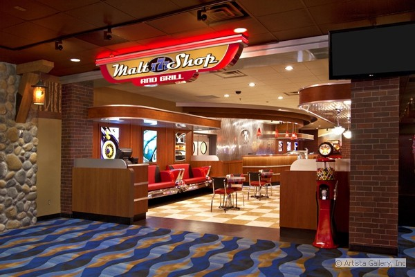 777 Malt Shop and Casino by New Retro Design
